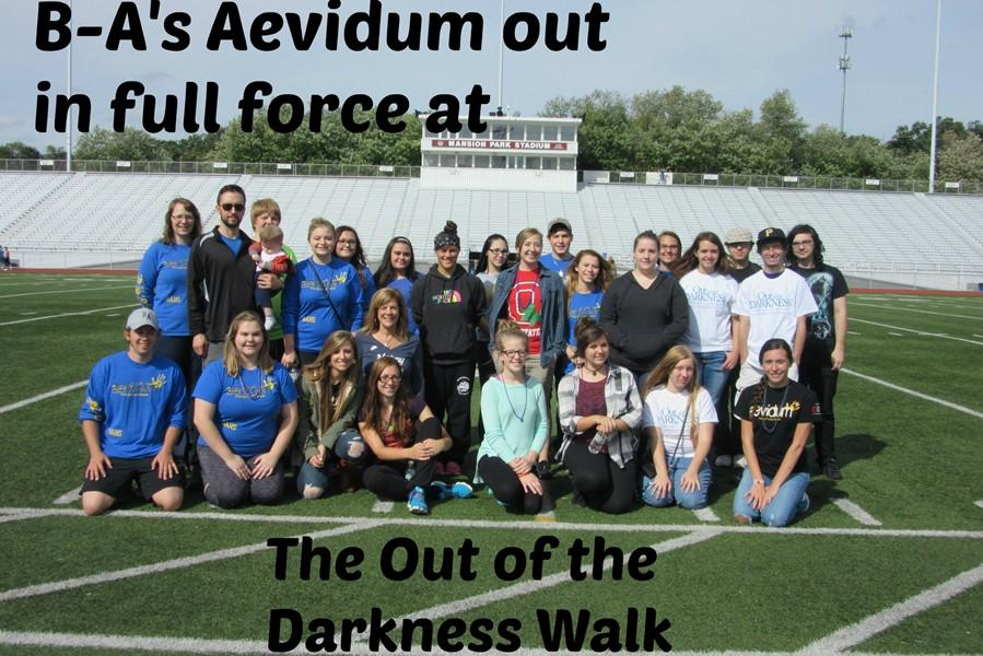 The community of Bellwood- Antis recognizes suicide at the awareness walk at Mansion Park
