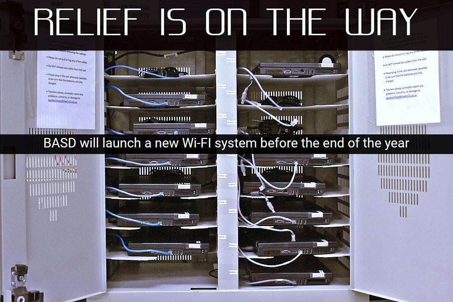 Plans are in the works to have a new Wi-Fi system installed district-wide perhaps as early as November.