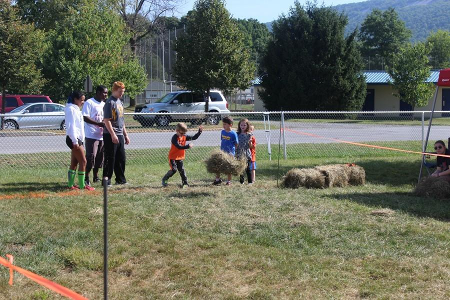 Friday marked the annual Ag Day at Myers Elementary sponsored by the FFA Club.