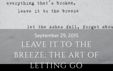 LEAVE IT TO THE BREEZE: THE ART OF LETTING GO