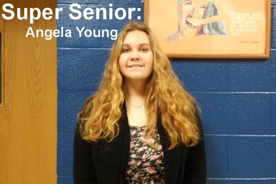 Senior Angela Young