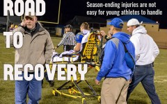 Dallas Huff suffered his share of injuries while at B-A, none more heartbreaking than the broken wrist he sustained last football season.