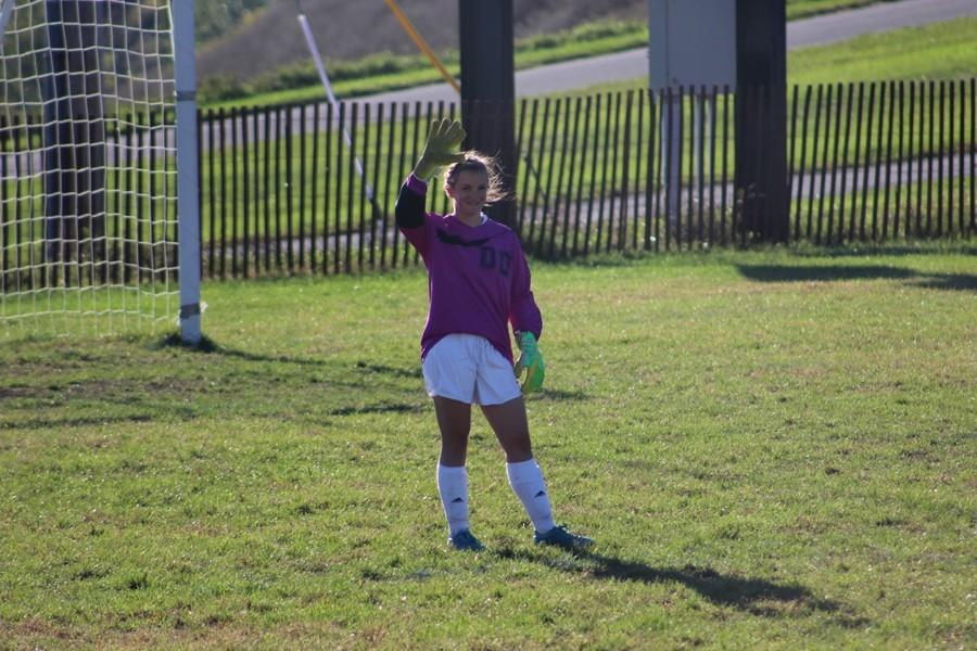 It was that kind of day for Marissa Panasiti and the girls soccer team yesterday in a 10-1 victory over Tussey Mountain on Senior Night.