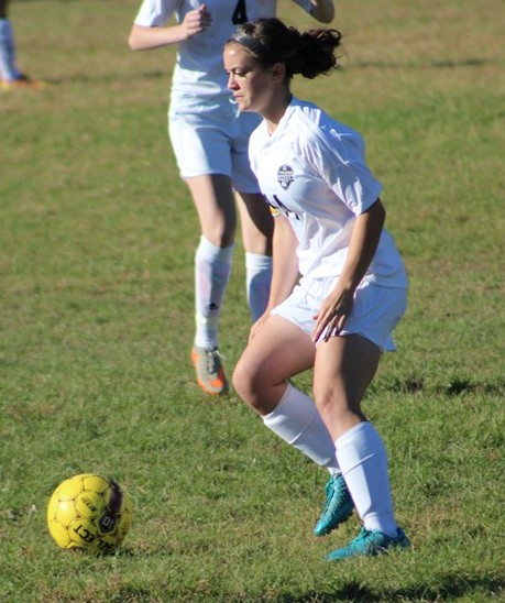 Marissa Panasiti suffered an ACL injury when she was a sophomore but has recovered to become a record-setting goal scorer in soccer.