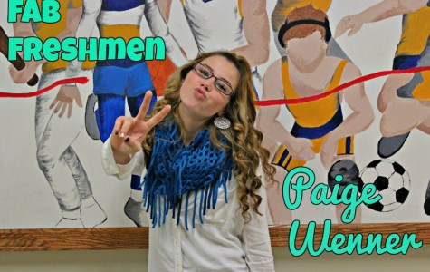 Paige Wenner enjoys being in high school.