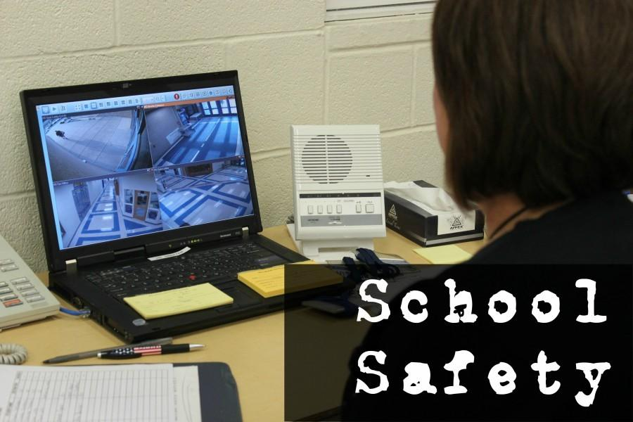 Video+cameras+and+increased+security+at+building+entracnes+are+some+of+the+steps+Bellwood-Antis+has+taken+to+make+school+safer.
