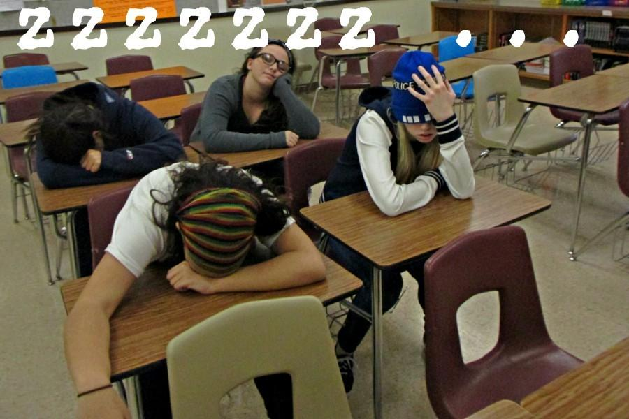 More and more kids across America are coming to school with less than enough sleep for a variety of reasons.