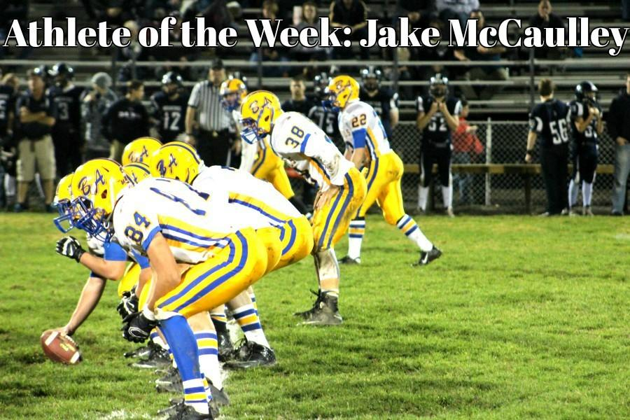 Senior+Jake+McCaulley.+Athlete+of+the+Week.