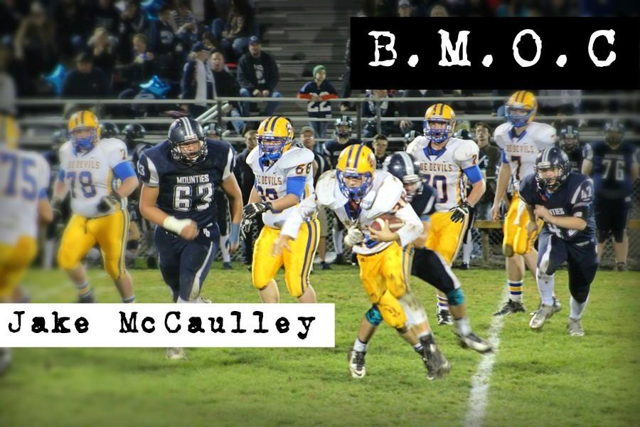 Jake McCaulley recently finished up his senior season playing for the Bellwood-Antis football team.