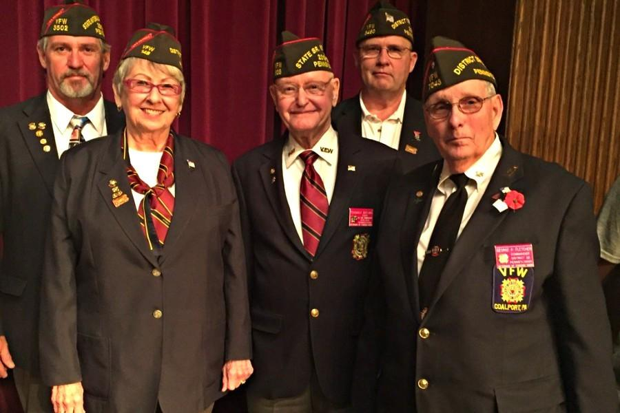 Several veterans of the United States Armed Forces were on hand Monday at Bellwood-Antiss annual Veterans Day Assembly.