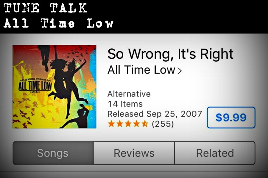 Dig the pop-punk sound of All Time Low.