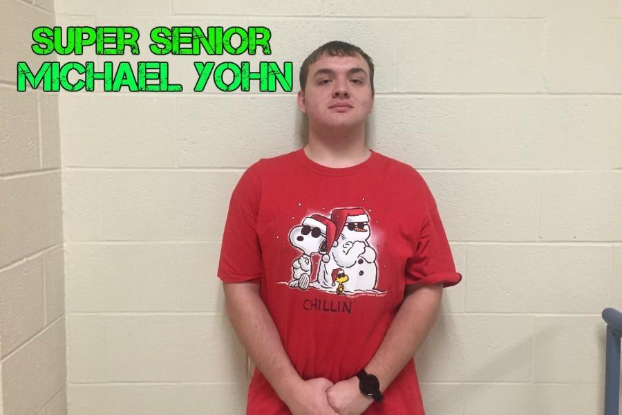Michael Yohn is this month's Super Senior!