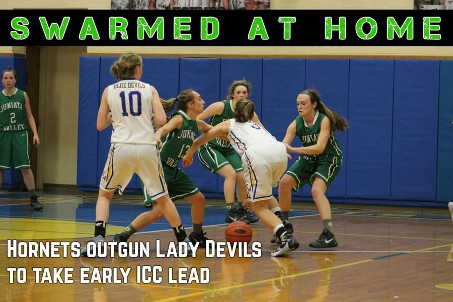 Juniata+Valley+opened+a+big+lead+by+halftime+and+fought+off+a+B-A+comeback+to+defeat+the+Lady+Devils+Friday.