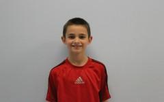 Third grade student Jake Baker