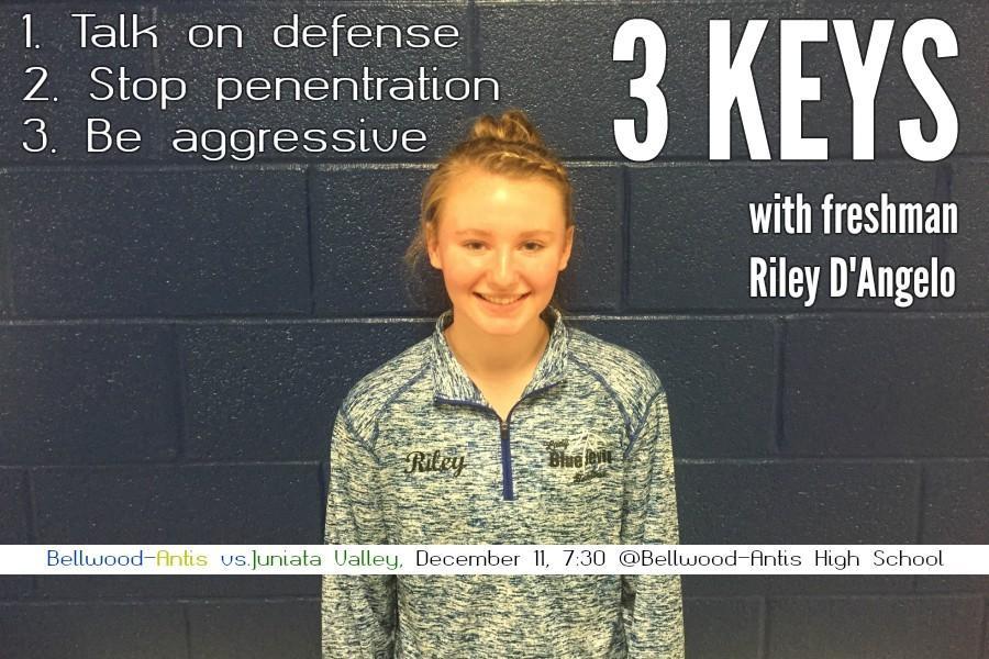 3 keys: Riley DAngelo