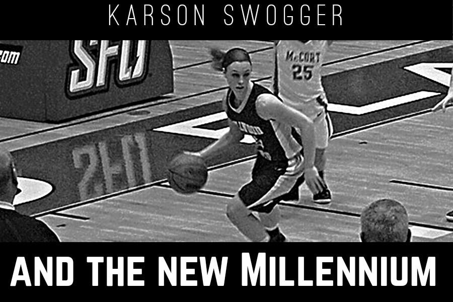 Karson Swogger became the tenth Lady Blue Devil to reach 1,000 points last week.
