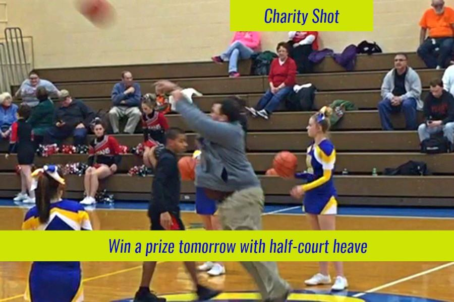 Boys basketball looks to help local children the blueprint for How much to build a half court basketball court