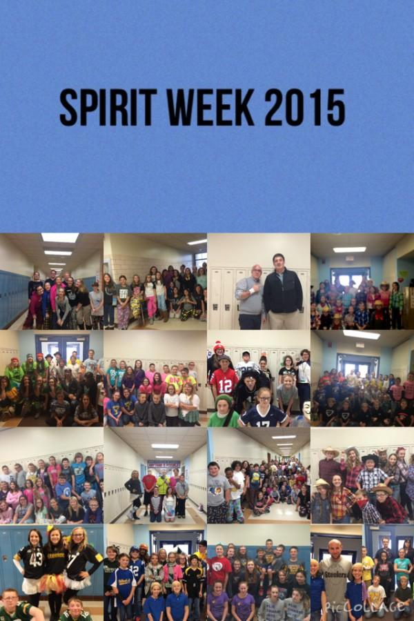 Scenes from the BAMS Spirit Week