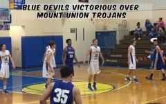 Blue Devils Win Over Mount Union