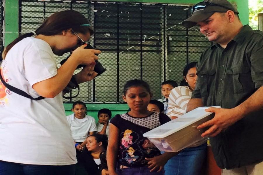 Former BluePrint photographer Emily Wagner used her photography skills recently in Honduras.