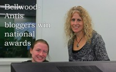Ms. Forshey and Aubree Reiter have received national recognition for their blogs.
