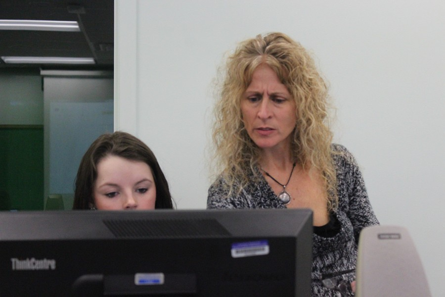 Ms. Forshey has spent much of her time at B-A experimenting with technology and bringing technology to the students.