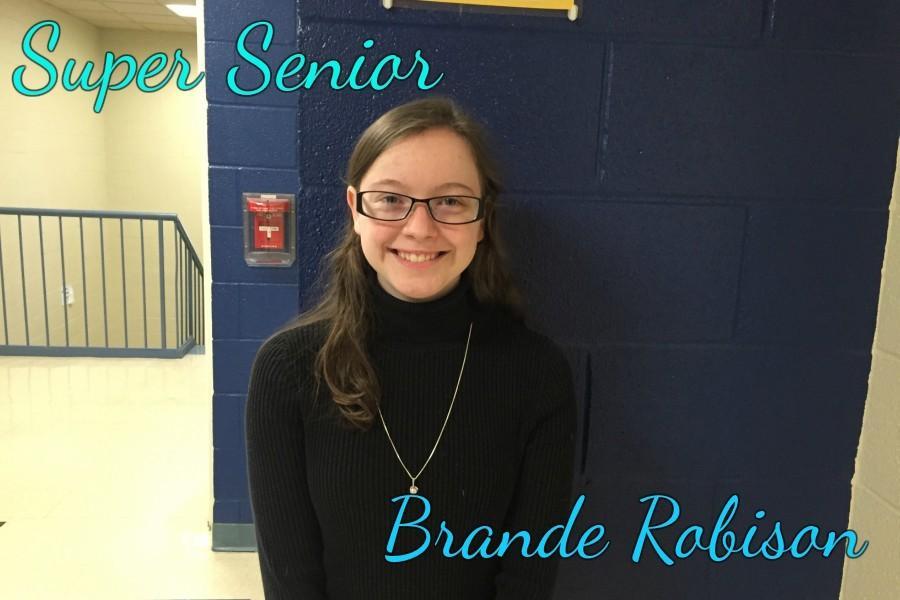 Brande Robison is this month's Super Senior!