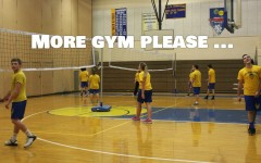 Some B-A students would love the idea of more gym class.