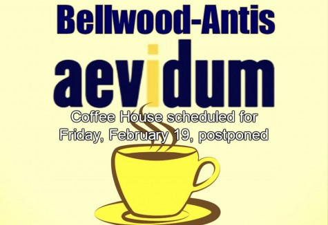 Aevidum has postponed Coffee House to later date in the school year.