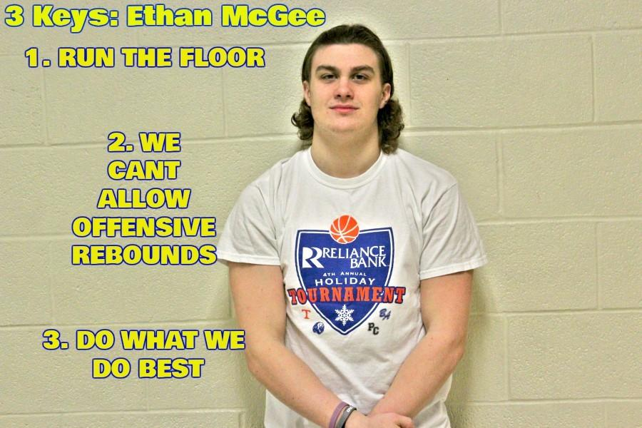 Junior Ethan McGee is leading his team with the 3 keys this week to help pull a win over West Branch, again.