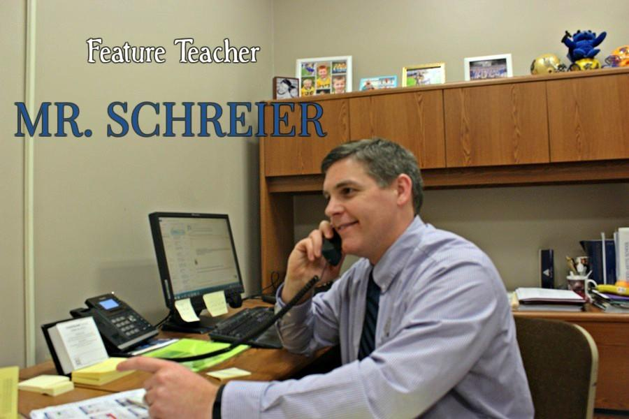 Mr. Schreier has been at B-A for 13 years, spending the last two as high school principal.