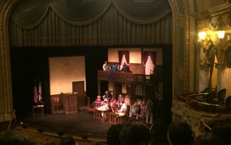 B-A students attend famous play