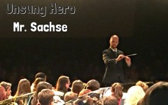 Mr. Sachse was an unsung hero when he organized PMEA District 6 band.
