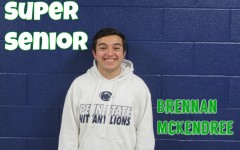 Brennan McKendree is a senior who is all smiles.
