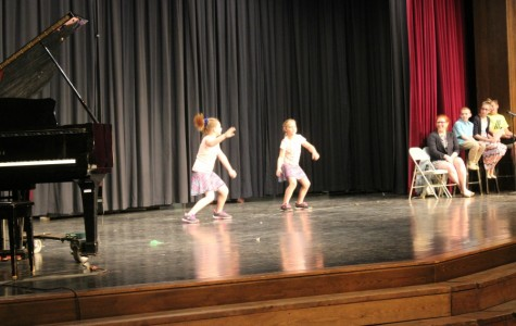 The whip and nay nay was a big hit at the talent show dress rehearsal.