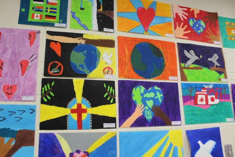 Arts Night has been a major success for the Art Department under the direction of Leah McNaul.
