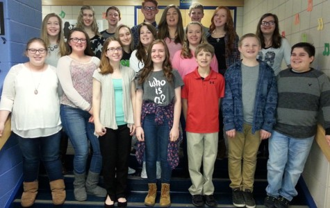 B-A well-represented at junior high county chorus