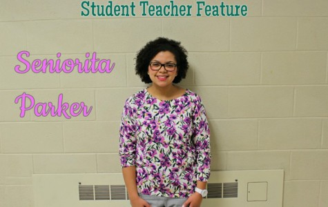 Seniorite Parker is working this semester with Mrs. Smith as a Spanish teacher.