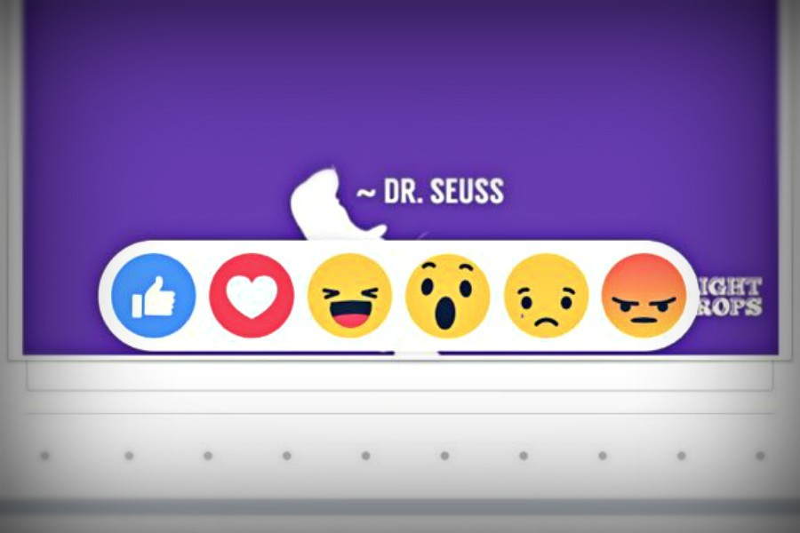 The new set of emoticons introduced last week by Facebook give users a wide variety of expressive options.