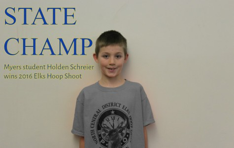 Holden Schreier made 22 of 25 foul shots Saturday to win a state-level shooting contest.