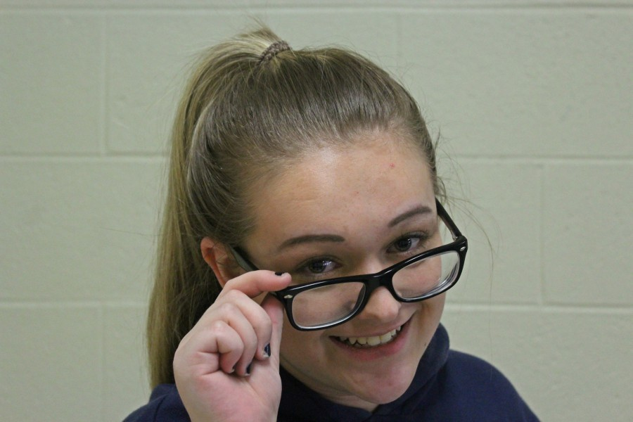 Phoebe Potter is among the millions of Americans who are nearsighted.