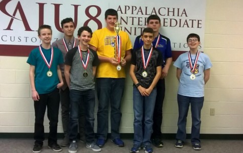 Scholastic Scrimmage team takes first place