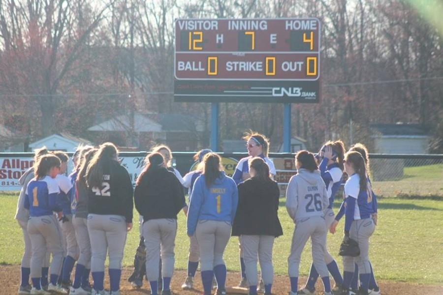 Despite trailing big early on the road, the Blue Devil softball team rallied for a big win at West Branch.