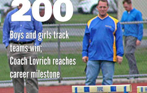 Coach Lovrich gets win No. 200