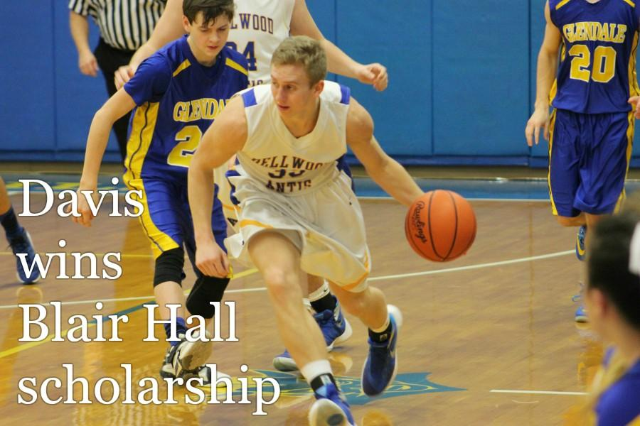 The awards keep on coming for senior scholar-athlete Nathan Davis.