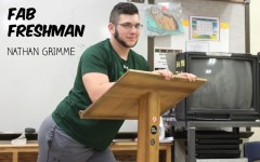 Nathan Grimme is an up and coming football player as a freshman.
