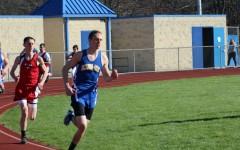 Senior Noah D'Angelo is on the run