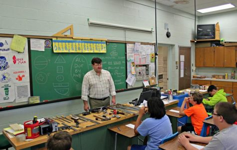 Mr. Mackereth enjoys the hands on training he provides students at B-A.