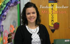 Mrs. Carson was inspired by great teachers from her past.