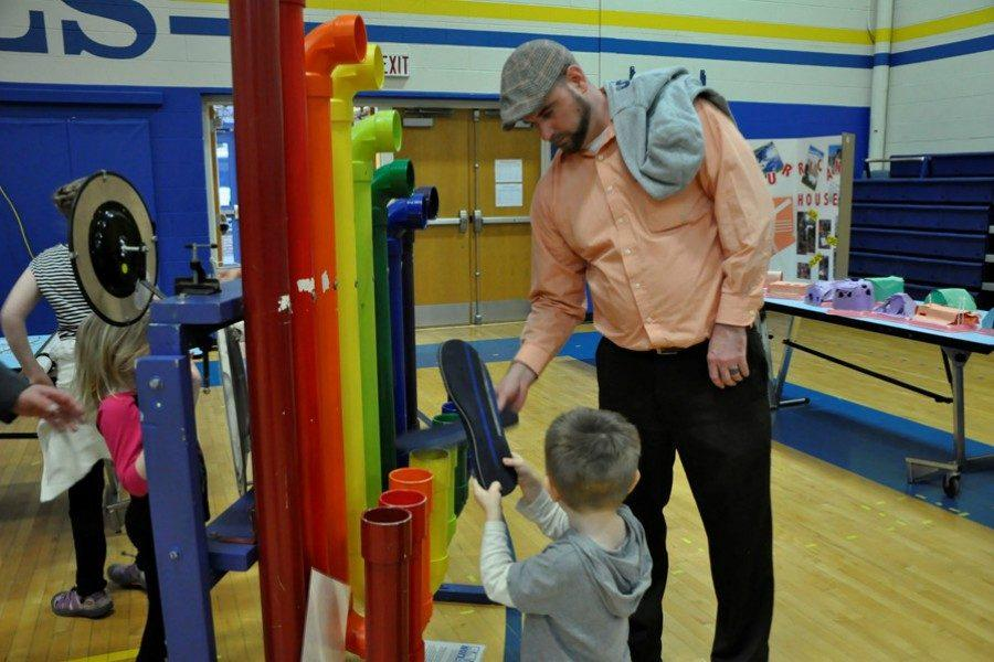 STEM Night is a blast for everyone.